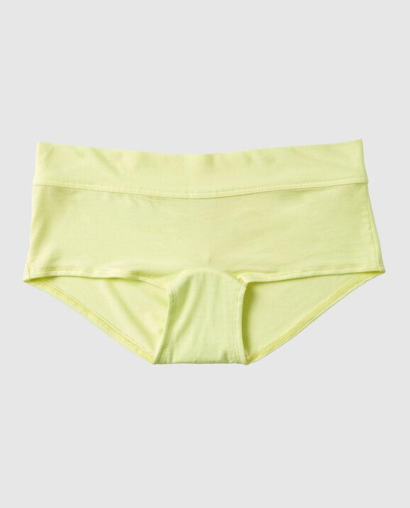 Boyshort Panty Sheer Lime 1