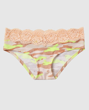 Hipster Panty Electro and Nude Camo 1