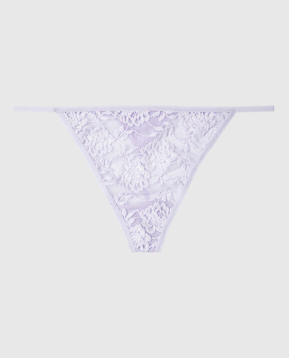 G-String Panty French Lilac 1