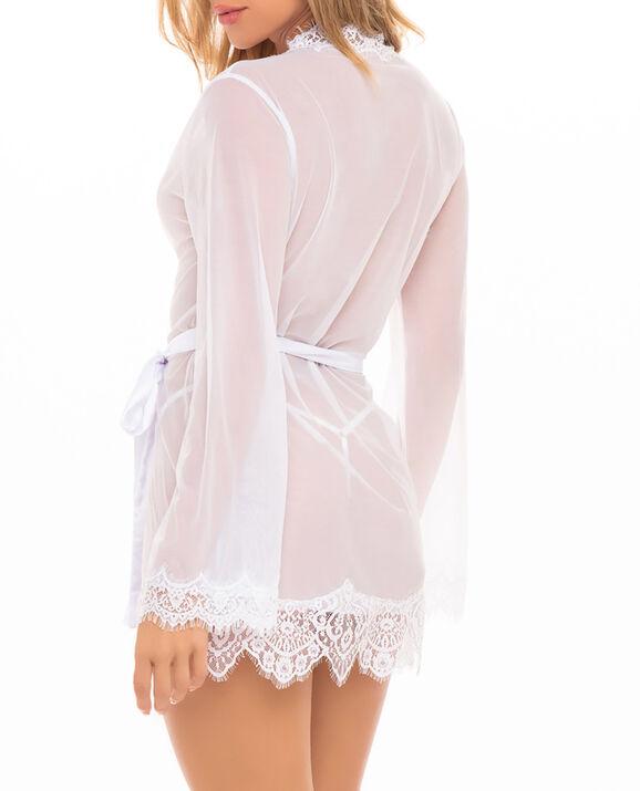 Sheer Kimono White 2