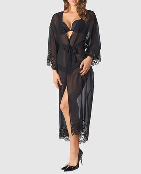 Long Chiffon Robe