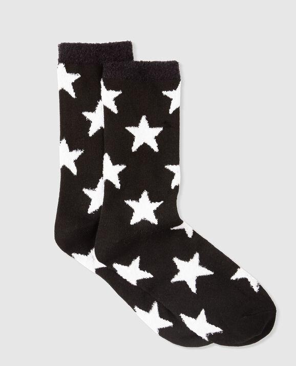 Crew Sock Smoulder Black 1