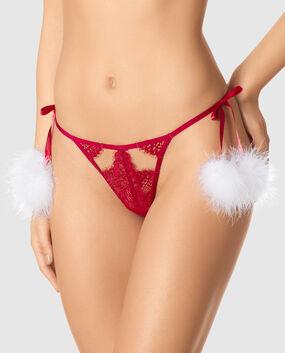 Santa G-String Panty
