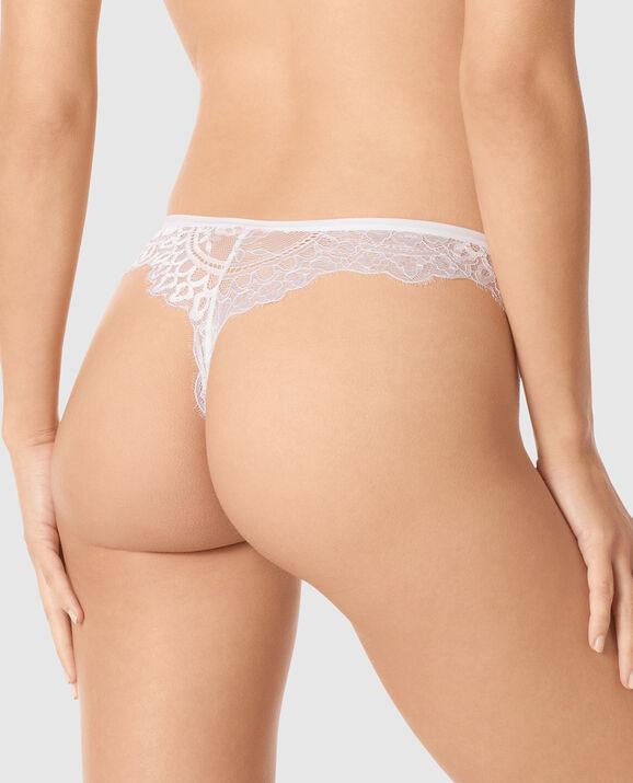 Thong Panty White 2