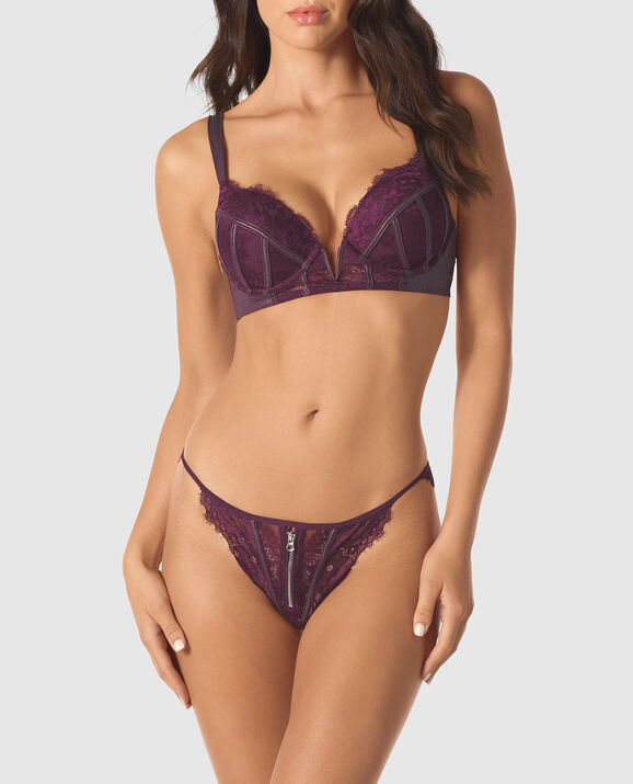 Up 2 Cup Push Up Bra Ruby Wine 1