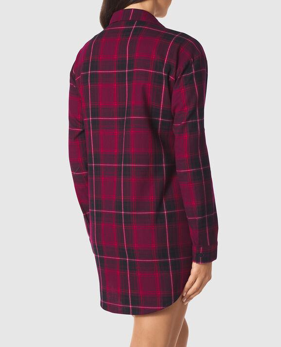 Flannel Sleepshirt undefined 2