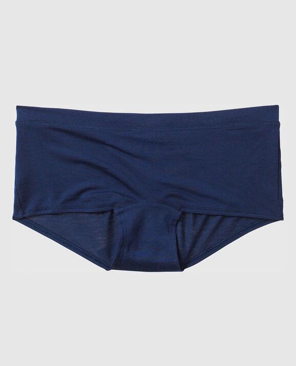 Boyshort Panty Blue Velvet 1