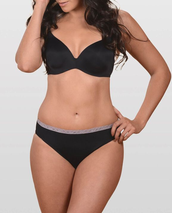 The Fearless Smooth T-Shirt Bra Smoulder Black 1