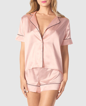 Satin Short Pajama Set