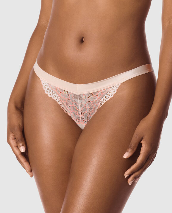 Cheeky Panty Politely Pink 1