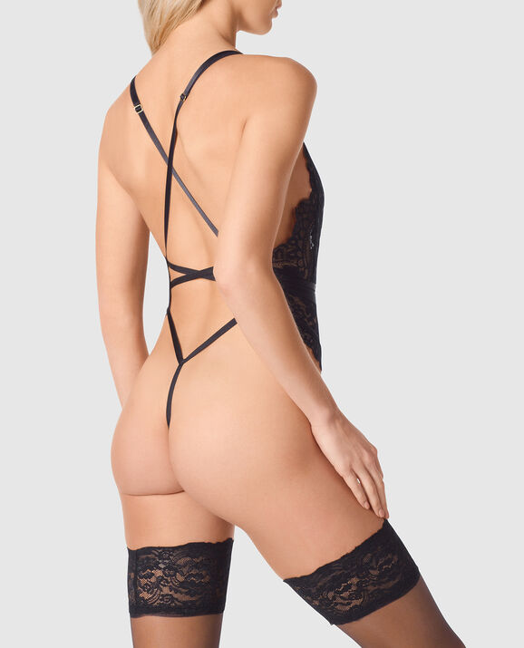 Unlined Lace Bodysuit undefined 2