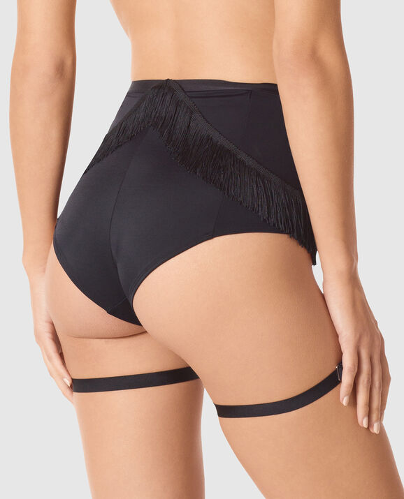 Wild West Booty Short Smoulder Black 2