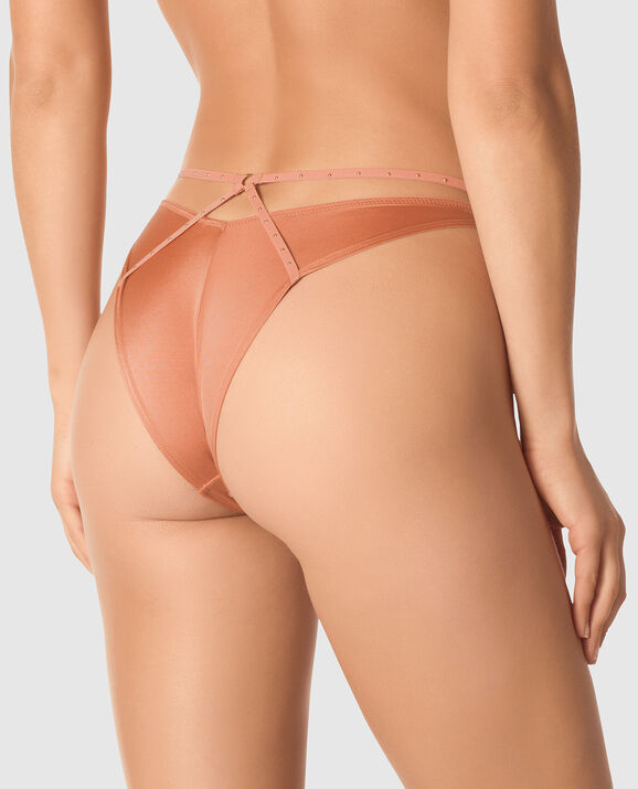 High Leg Cheeky Panty Desert Blush 2