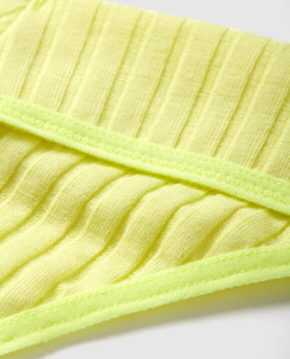 Ribbed Thong Panty Electro 3