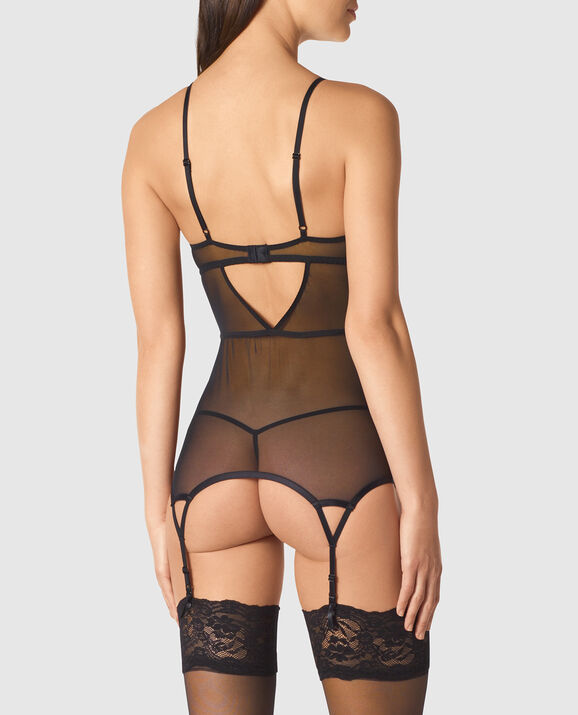 Strappy Merrywidow Smoulder Black 2