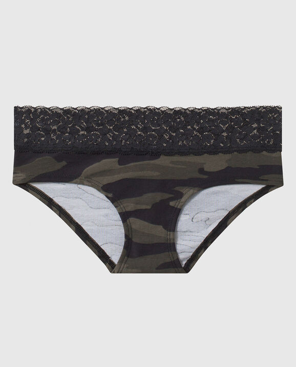 Hipster Panty Green Camo 1