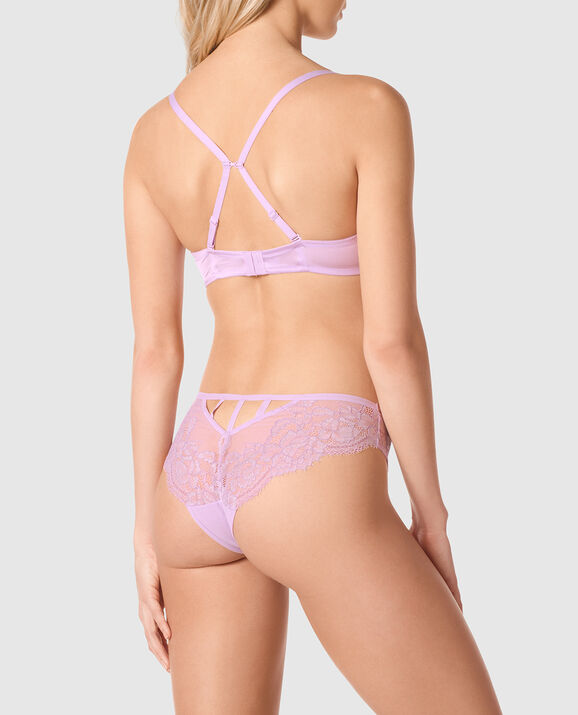Up 2 Cup Push Up Bra Lilac Whisper 2