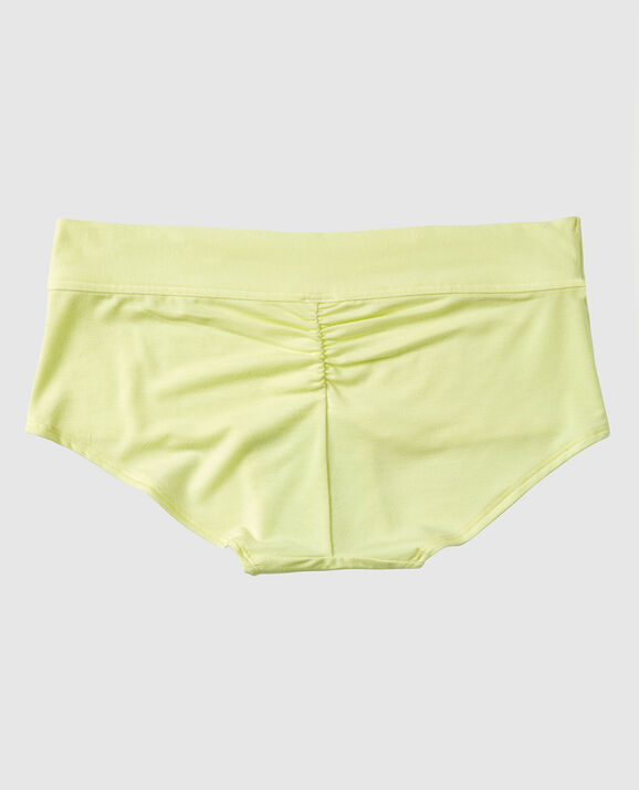 Boyshort Panty Sheer Lime 2
