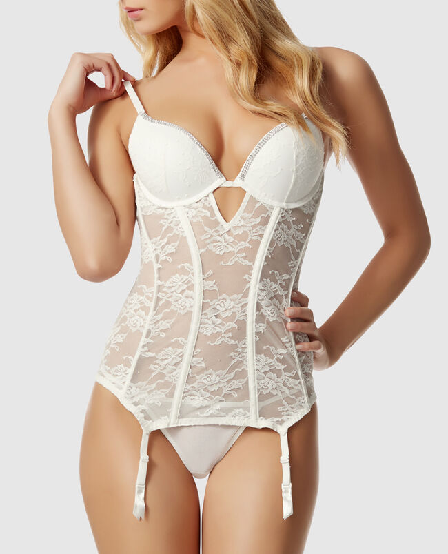 Push Up Lace Merrywidow