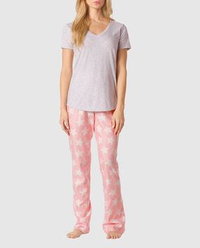 The Cozy Pajama Set Angel Star 1