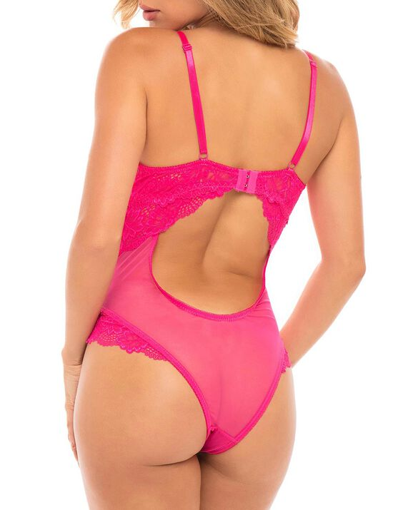 Unlined Lace Bodysuit Candyland 2