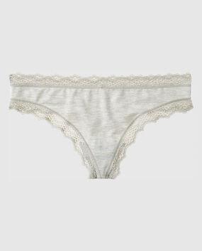 Thong Panty Shiraz Heather 1