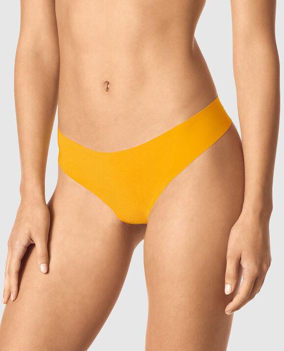 Thong Panty Bright Saffron 1