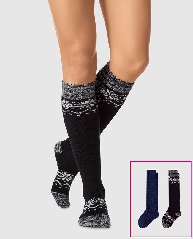 Knee High Sock 2 Pack