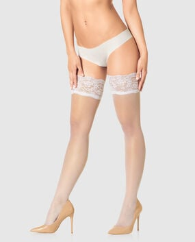 Lace Top Stay Up Thigh-High