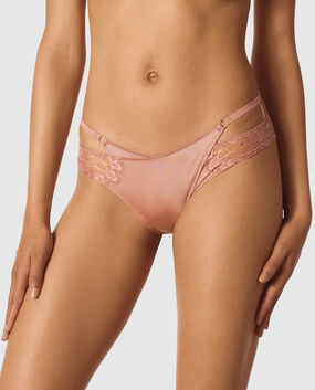 Cheeky Panty with Open Keyhole Begonia 1