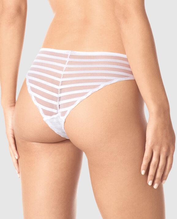 Brazilian Panty White 2