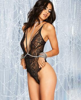 Unlined Lace Bodysuit