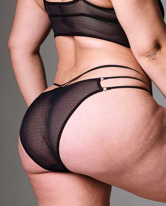 Constellation Bikini Panty Smoulder Black 2