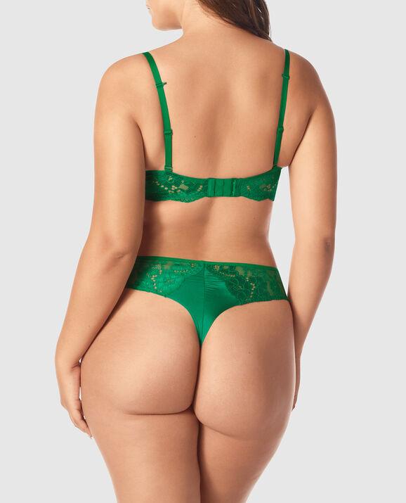 Push Up Bra Glam Green 2