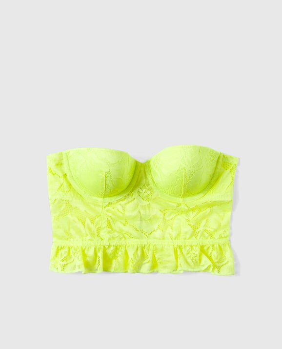 Lightly Lined Bra Top Tequila Lime 1