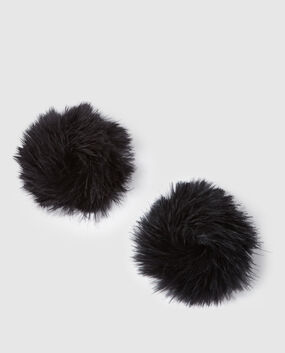Marabou Pasties Smoulder Black 1