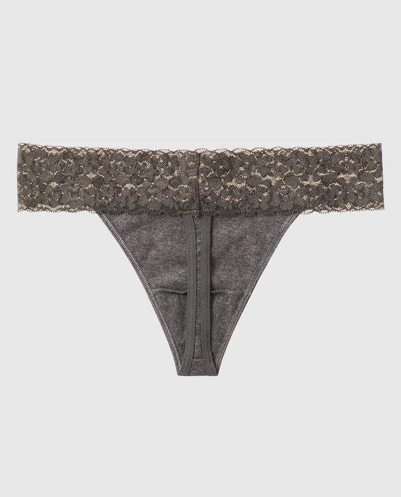 Thong Panty Ember Grey 2