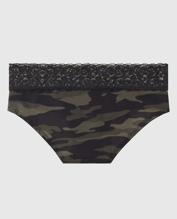 Hipster Panty Green Camo 2