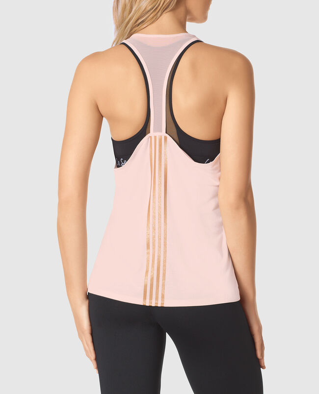 Racerback Tank with Mesh