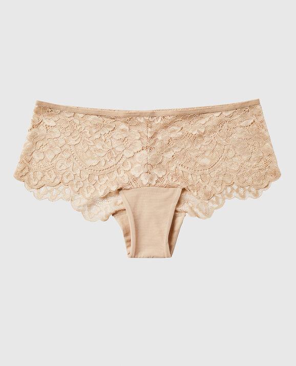Cheeky Panty Rose Tan 1