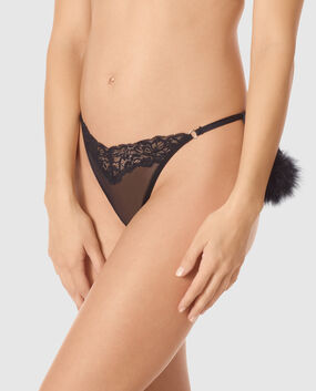 G-String Panty Smoulder Black 1