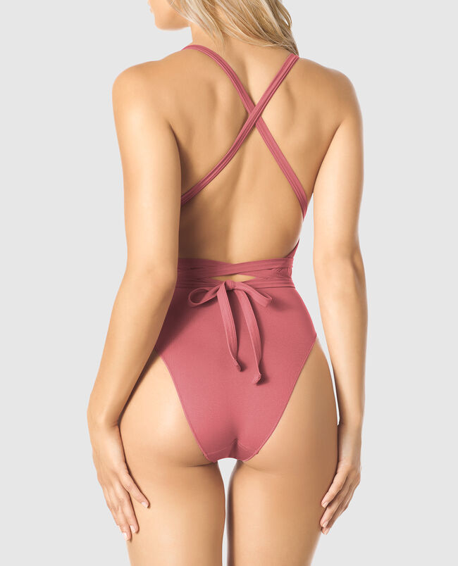 Plunging Wrap Bodysuit