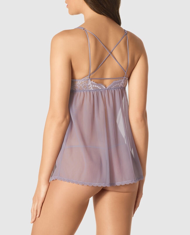 Front-Close Push Up Babydoll