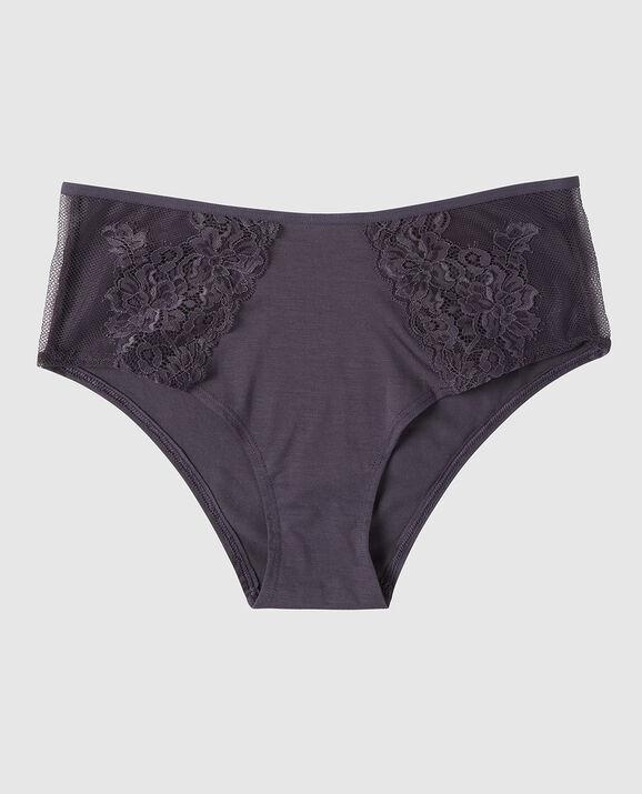 High Waist Hipster Panty Deep Mulberry 1