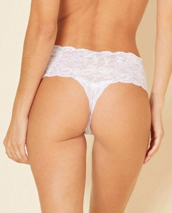 Comfie Thong Panty White 2