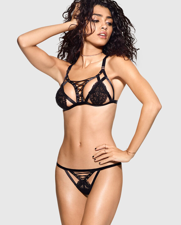 f7f6d824d22 Barely-There Strappy Bra