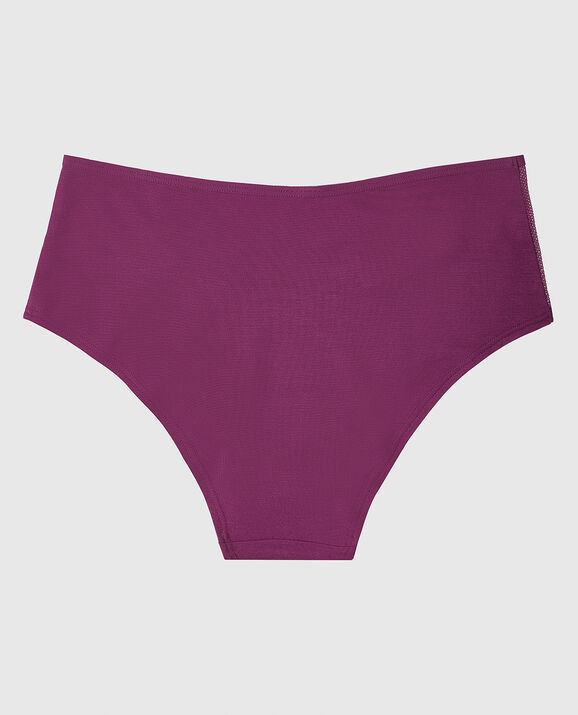 High Waist Hipster Panty Wild Berry 2