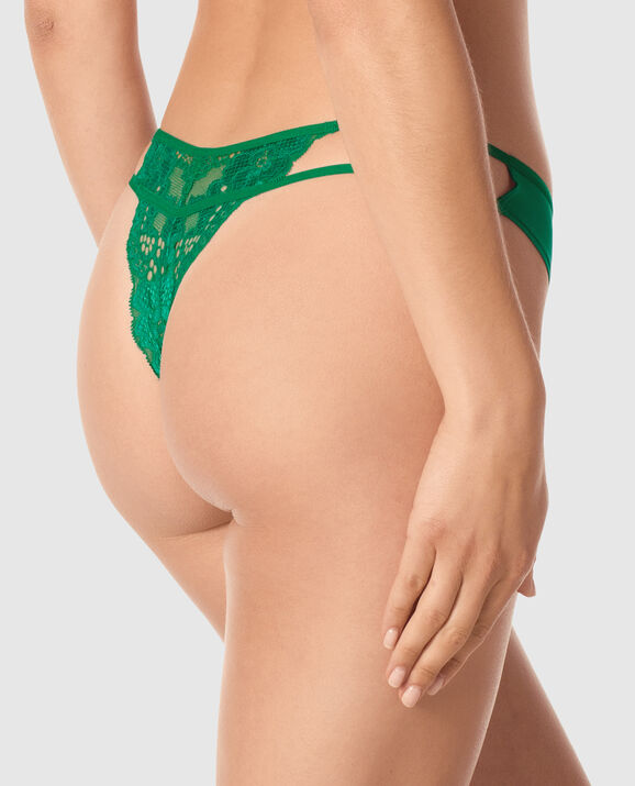 Thong Panty Glam Green 2