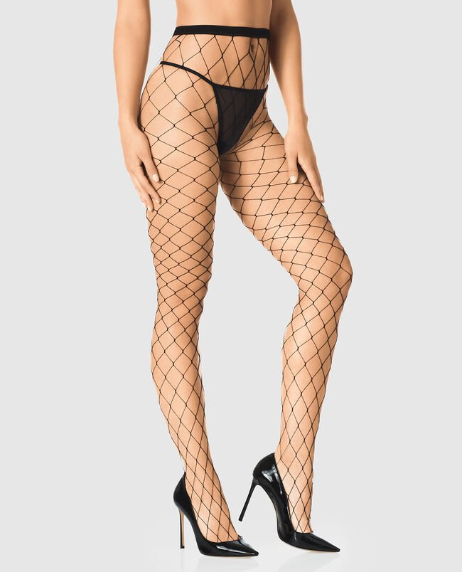 Large Fishnet Tights