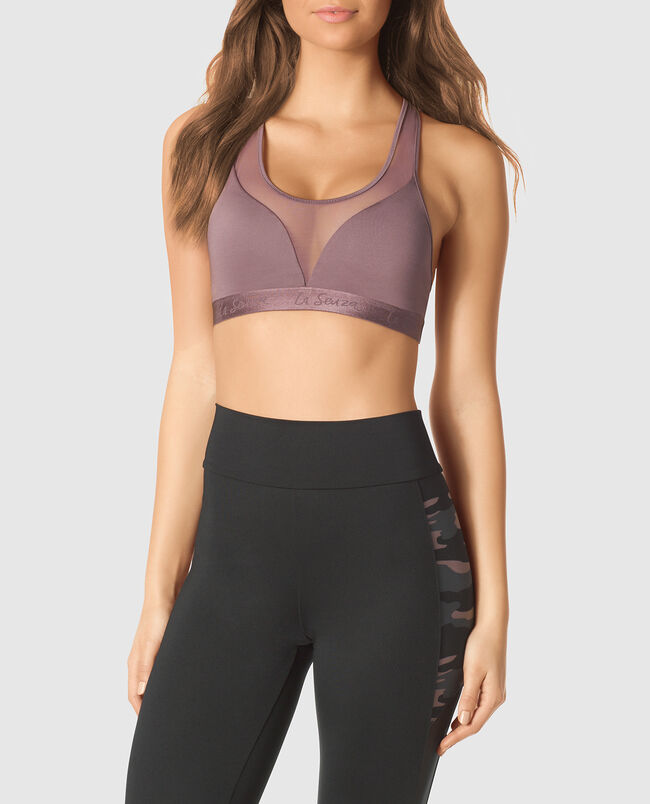 Sports Bra with Mesh